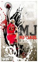 NBA Legends - MICHAEL JORDAN by GustavBAD