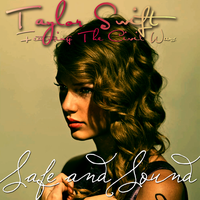 Taylor Swift - Safe and Sound CD Cover by feel-inspired