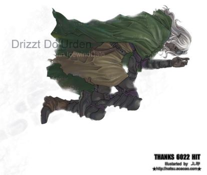 Drizzt by Athew