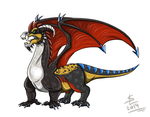 VeyZ as a dragon by giantdragon
