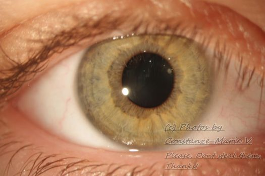My eye close-up by Boombat