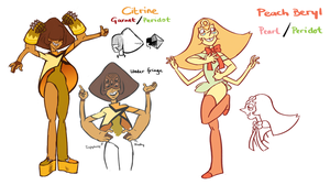 Citrine + Beryl by french-teapot