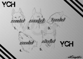 YCH Heads 7$ CLOSED by xXCougarXx