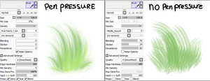 Fur/Hair/Grass Sai Brush by imakocoa