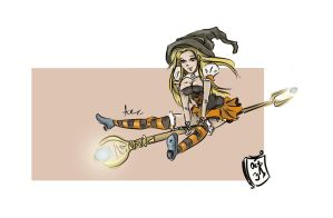 Lux - Halloween Skin by aneliq