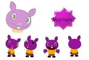 Mariana DT by HTF-Characters