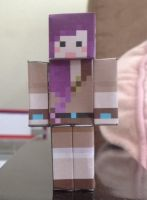 iHascupquake paperpcraft by TeenageLover101