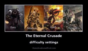 The Eternal Crusade settings by BrotherCoa