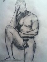 live male nude model by jaiquanfayson