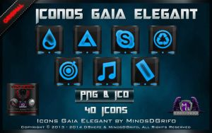 Icons Gaia Elegant 2013 By MinosDGrifo by DShepe