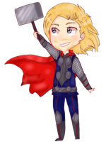 Thor by Pecora-dolce