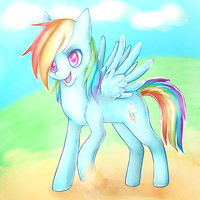 Rainbowdash by Smushey
