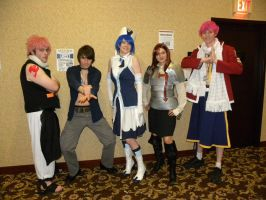 AD 2012 - Fairy Tail Members by The-Emerald-Otter