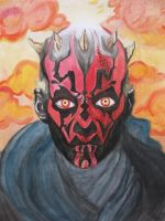Star Wars: Darth Maul by XxVampireNightxX