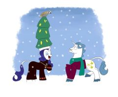 On the First Day Of Christmas... by lordvader914