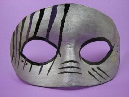 Purple and silver custom mask by maskedzone