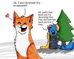 Oh Chistmas Tree... by GingerFlight