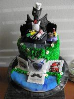 Geeky Father's Day Cake by Afina79