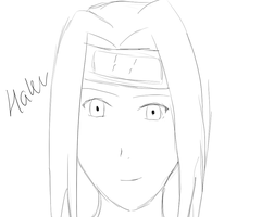 Haku Sketch by Lightening-Ninja