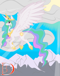 The Majestic Princess of the Sun by TITANOSAUR