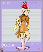 Fearow Rocker by Ama-Encyclopika