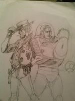 The Unlikeliest of Duos(Unfinished) by MarcDaArtist