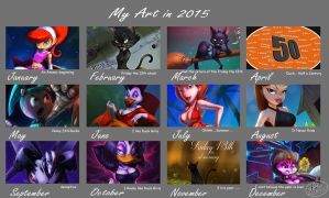 2015 Art Summary by 14-bis