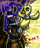 five nights at freddy fazbear's by fukamii
