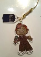 Dr. Who zombie charm by digikolobong