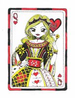 Queen of Hearts by suzannedcapleton