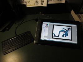 MY NEW wacom cintiq companion by phation