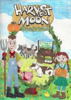 Harvest Moon: Stinky's Stand by ChibiSunnie