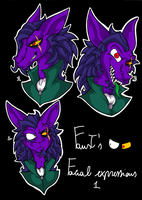 Sly C. - Faust's Expressions 1 by KaylaTheDragoness