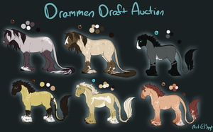 Drammens: Draw To Adopt CLOSED by SpytDragonFyre