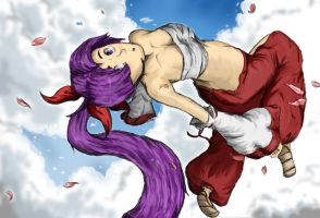 Naka sempai color by Steam-maiden