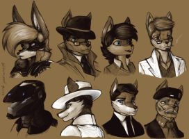 Tan Sketches 5 by WMDiscovery93