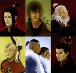 ATLA: Portraits by lilsuika