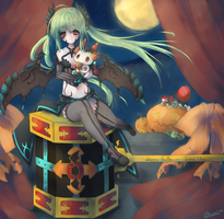Happy Halloween Grand Chase by Subiculum