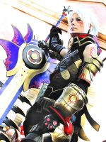 Cosplay: Hack g.u. Haseo by GhoulSoul