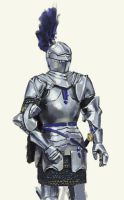 Quick Armour Study by Rhineville