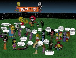 Simpsons-Ruby Gloom Crossover 2 by broad86new