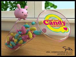 Babinci Loves Candy by silke3d