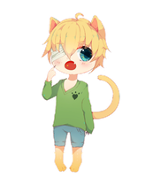 Lucas the Kitty by ElliesBean