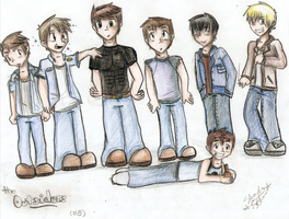 The Greasers by lewisrockets