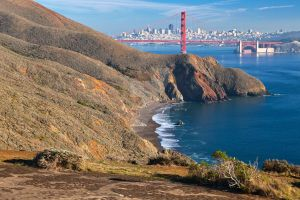 San Francisco and Golden Gate II - Exclusive HDR by somadjinn
