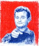 Bill Murray by Luciano-DRS-Artwork
