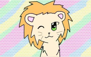 A Lion for ~ilovestories5 by LilyKittyCat