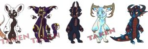Adoptables by Shalinka