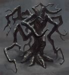 Flensing Tree - Creature Concept by Cloister
