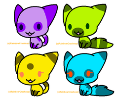 Free Kitty Adopts {CLOSED} by SNlCKERS